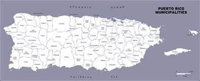 Puerto Rico Maps by Large Detailed Administrative Map Of Puerto Rico Puerto