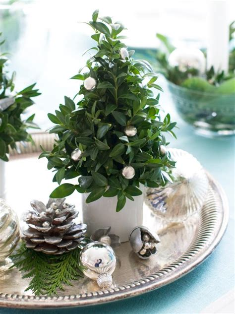 mini tree centerpieces photo page hgtv