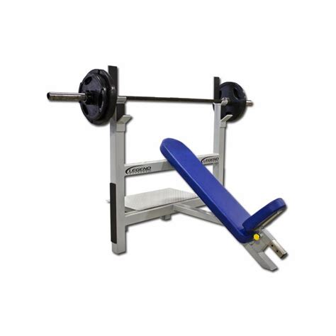 olympic weights and bench legend fitness incline olympic weight bench 3106