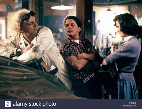 michael j fox young back to the future christopher lloyd michael j fox lea thompson back to