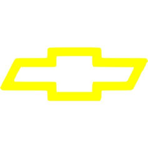 chevrolet logo png yellow chevrolet icon free yellow car logo icons