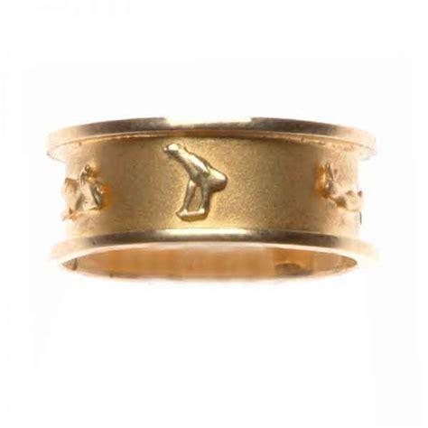18k gold wedding band wedding band cartouche 18k gold ring egypt7000