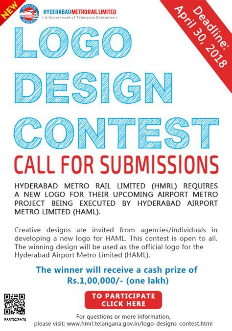 logo design competition notice hyderabad airport metro rail logo design contest prize