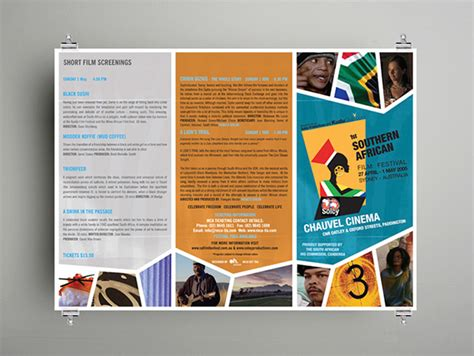 Festival Brochure Design by Southern Festival On Behance