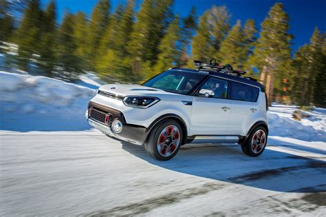 Is The Kia Soul Awd Trail Ster The Kia Soul Awd Electric Concept Revealed