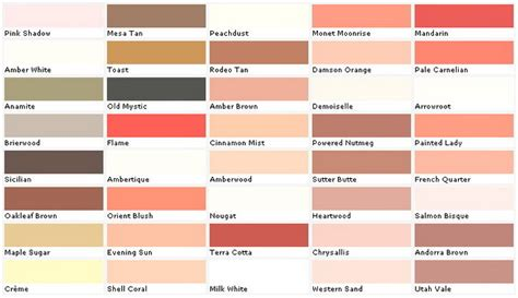 paint chart for walls wall paint color ideas 53 great photos to help you get
