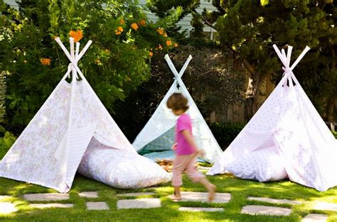 Backyard Teepee by How To Turn Your Backyard Into The Retreat This Year