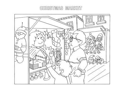 food market coloring pages coloring pages