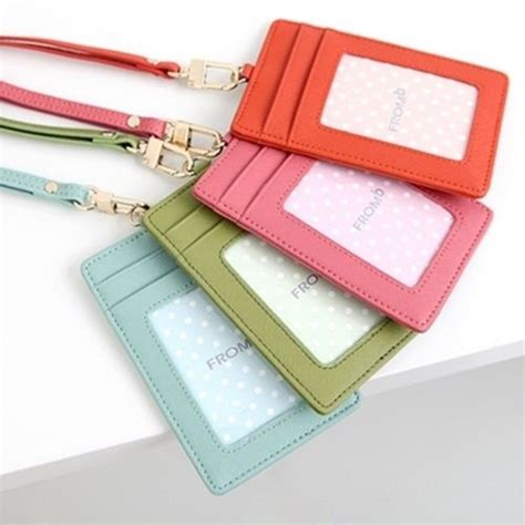 pattern for name tag holder faux leather id card holder winnor international limited