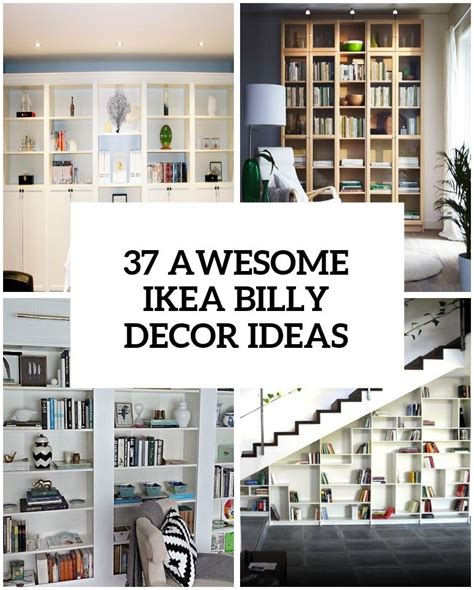 Ikea Scaffali Billy by 37 Awesome Ikea Billy Bookcases Ideas For Your Home