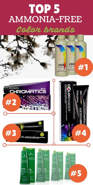 ammonia free hair color brands top 5 ammonia free hair color brands 2014 this is a