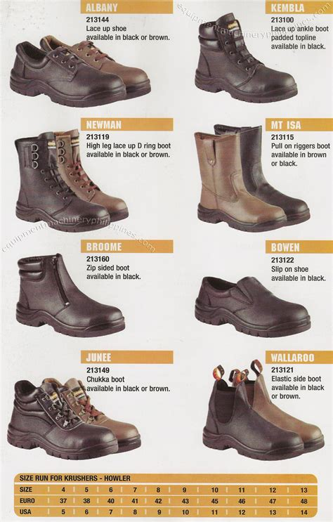 Safety Shoes Krushers Alaska krushers industrial safety shoes philippines