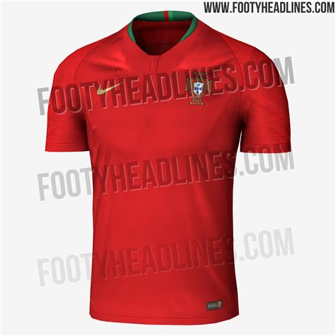 exclusive portugal 2018 world cup home kit leaked footy
