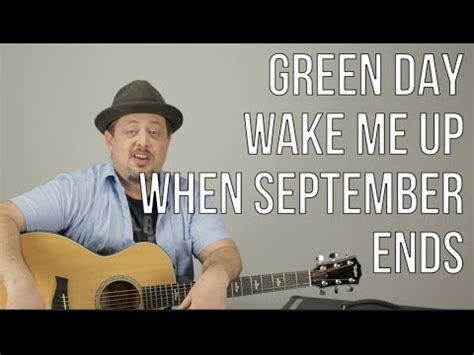 tutorial guitar wake me up wake me up when september ends green day guitar tutorial