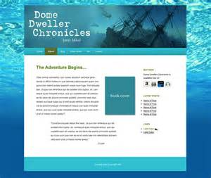 Templates For Authors by Announcing New Author Website Templates Where Writers Win