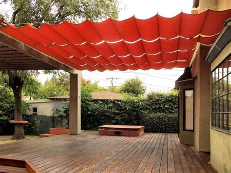 Fabric Wire Deck/Patio Canopy Ideas   hazel   Pinterest
