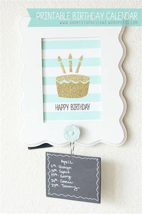 free fillable birthday calendar template fillable birthday calendar template calendar 2018 printable