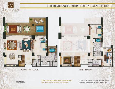 3 bedroom loft floor plans grand luxxe residence