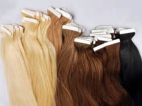 extensions on hair seamless weft
