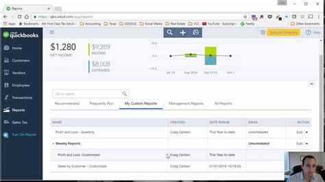 quickbooks sdk tutorial c how to automatically send accounting reports through email