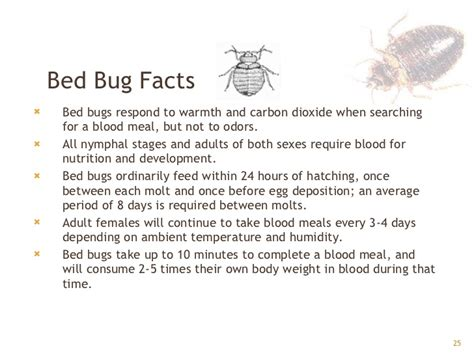 bed bug facts bed bugs gpha