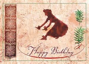 4 greeting cards hawaiian happy birthday hawaii hula ebay
