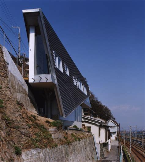 Small Split Level House Plans modern japanese home skinny house by shuhei endo