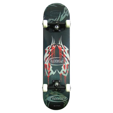 Cheap Skate Decks For Sale renner c series blood tattoo complete skateboard