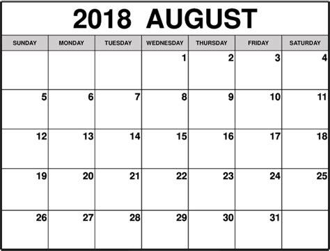 printable calendar summer 2018 july calendar 2018 printable template august 2018