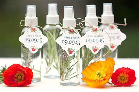 Wedding Giveaways 2015 - herbal spray mister wedding favors weddings ideas from evermine wedding giveaways 2015