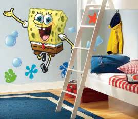 spongebob squarepants giant wall stickers stickers for
