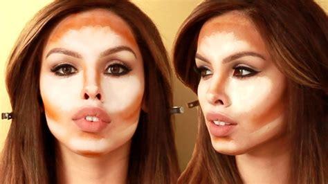 Makeup Tutorial Youtube Contouring | how to kim kardashian contour and highlight tutorial