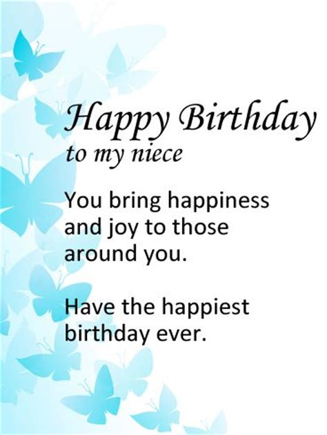 Birthday Card To My Niece The 10 Best Images About Butterfly Birthday Cards On
