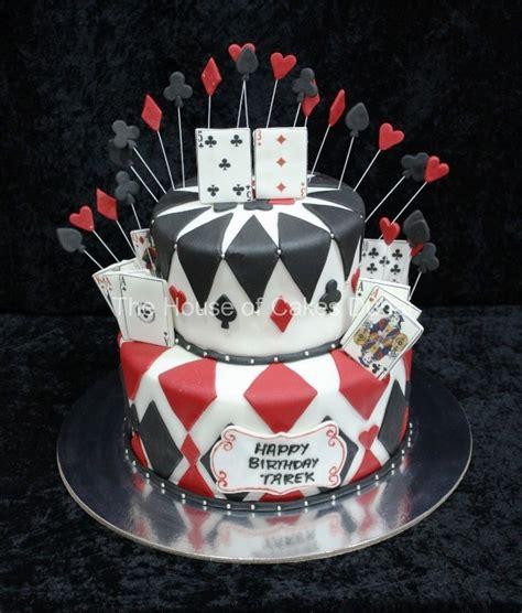 Gift Card Cake - playing cards cake 2