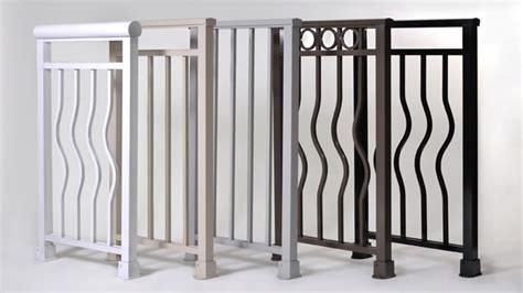 aluminum deck railing systems san francisco to new york alumina railing custom iron works inc cleves ohio