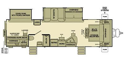 evergreen travel trailer floor plans print