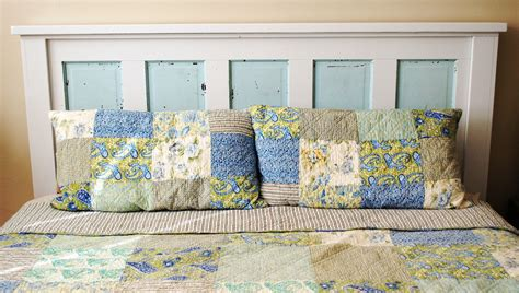 how to make headboard from door ain t she crafty how to build a headboard from an old door
