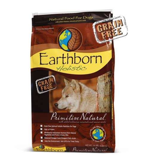 holistic food primitive grain free holistic food formulas earthborn holistic