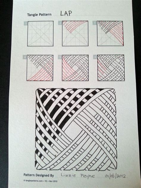 Zentangle Pattern Blog | judy s zentangle creations zentangle patterns from blog