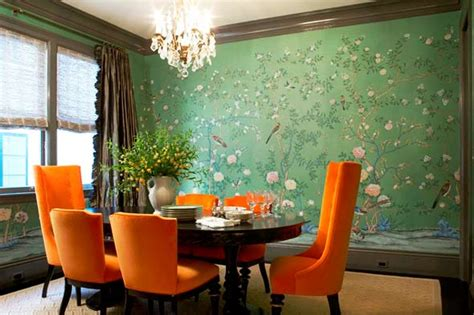 Bold Dining Room Colors by Coldwell Banker Realty Wall Ideas Color Pattern