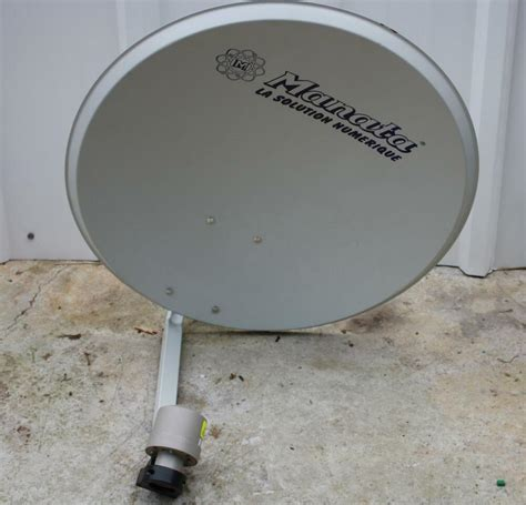 manata parabolic solid oval dish antenna 5ghz with horn mounting size 65x70cm ebay