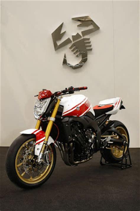 yamaha fz1 abarth assetto corse concept bike with 150hp r1