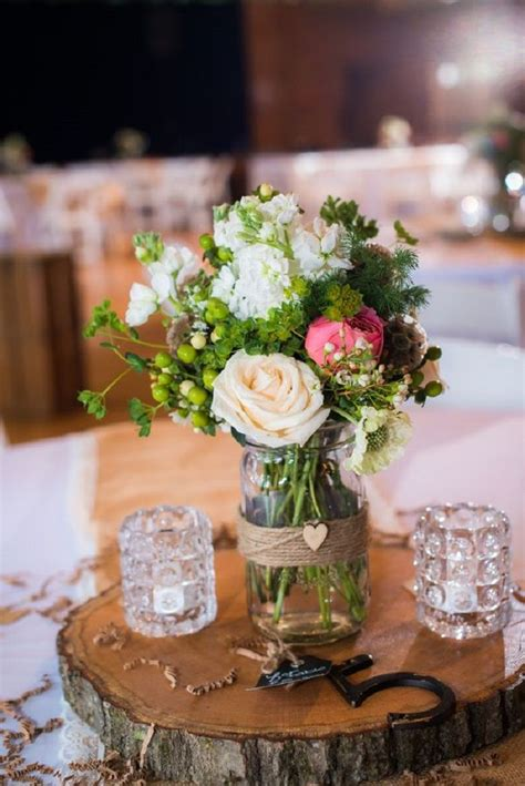 rustic centerpieces for wedding table 100 rustic wedding centerpiece ideas fabmood wedding