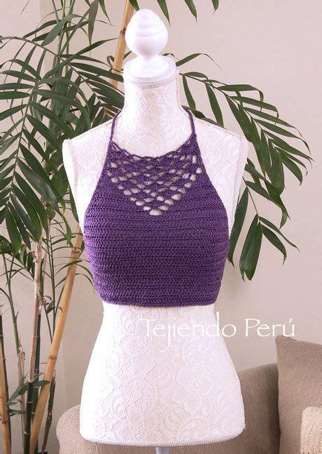 crop top a crochet paso a paso las 25 mejores ideas sobre top crop tejido en crochet en