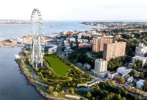 Records Staten Island Ny Ny Ferris Wheel Breaks Ground In Staten Island Inhabitat Green Design Innovation