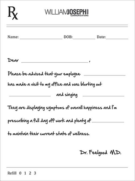 blank doctors note template blank template for doctors notes for work new calendar