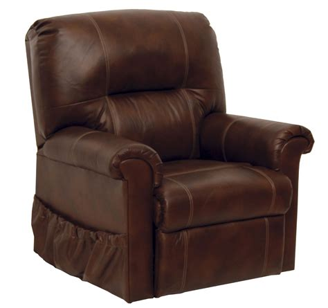 leather power lift recliner chairs vintage tobacco leather power lift chair from catnapper