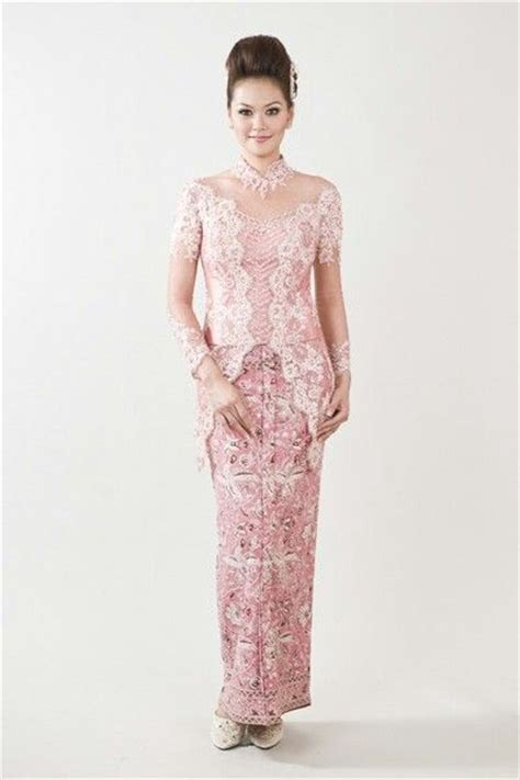Baju Kebaya Modern Pink pink kebaya kebaya kebaya baju kurung and brokat