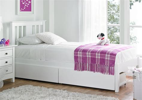 girls headboards malmo white solo wooden bed frame kids single beds