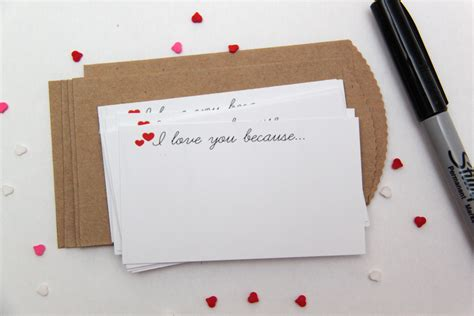 Because I Said I Would Card Template by I You Because Free Printable Notecards Smashed